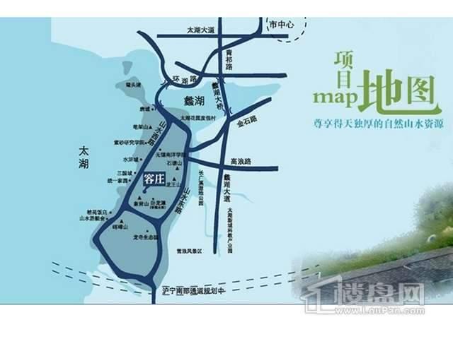 容庄交通图