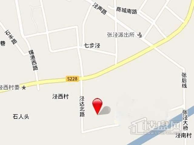 锡北国际广场交通图