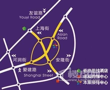 新商海交通图