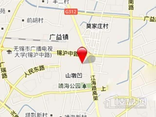 红豆人民路九号交通图