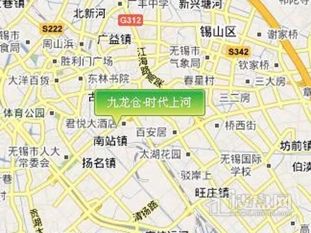 九龙仓时代上河交通图