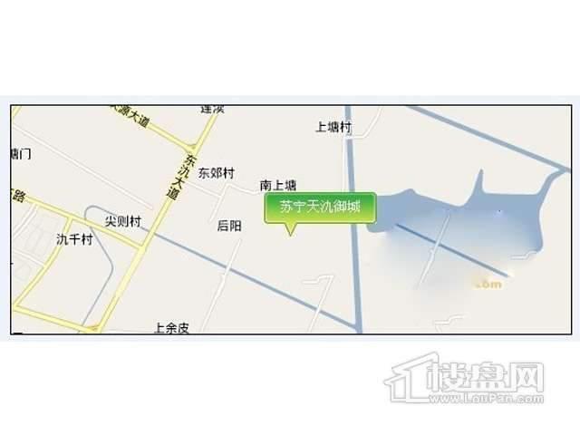 苏宁天氿御城交通图