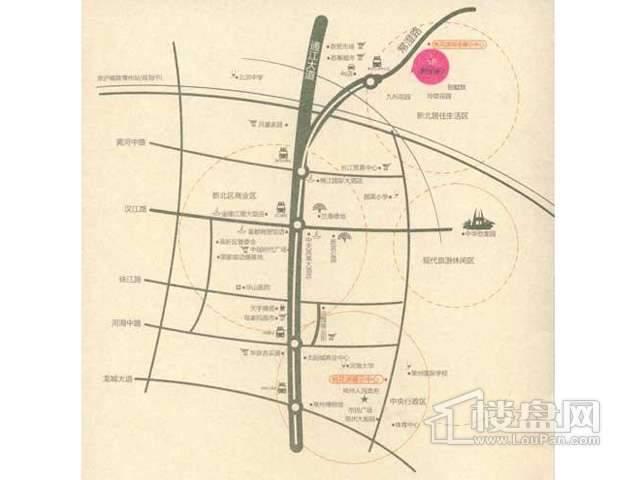桃花源交通图