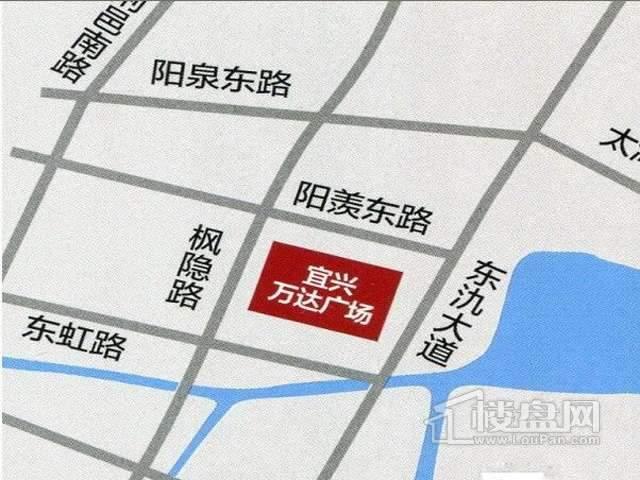 宜兴万达广场交通图