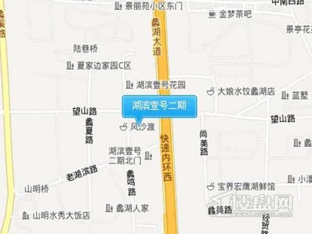 湖滨壹号二期交通图