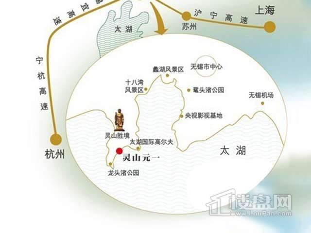 灵山元一天邑交通图