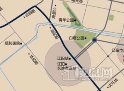 辽阳第一城交通图