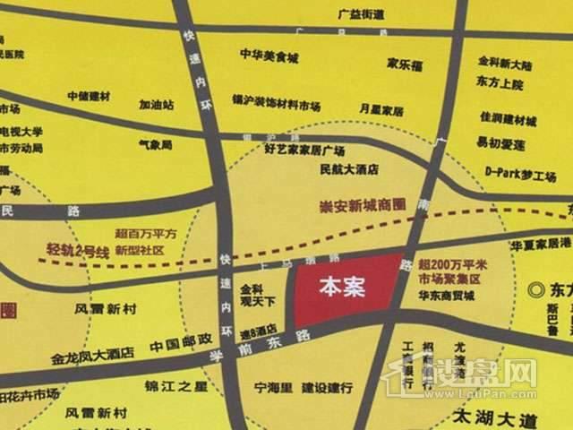 无锡电子数码城交通图