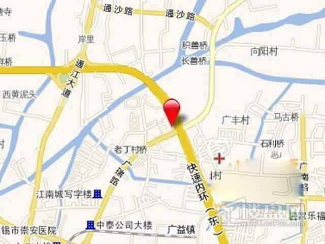 新联钢大厦交通图