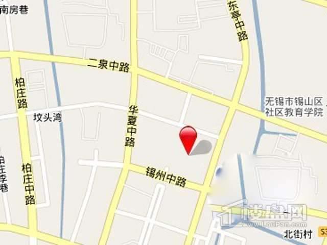 河南浙南锡山区项目交通图