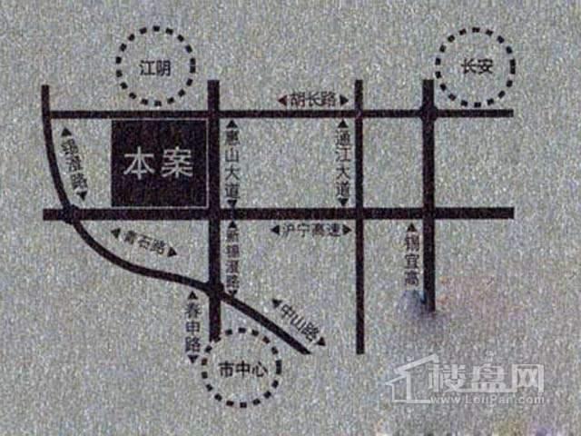 华府庄园白金府邸交通图