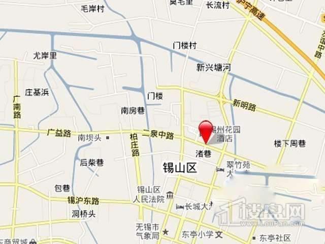 华夏二泉中路项目交通图