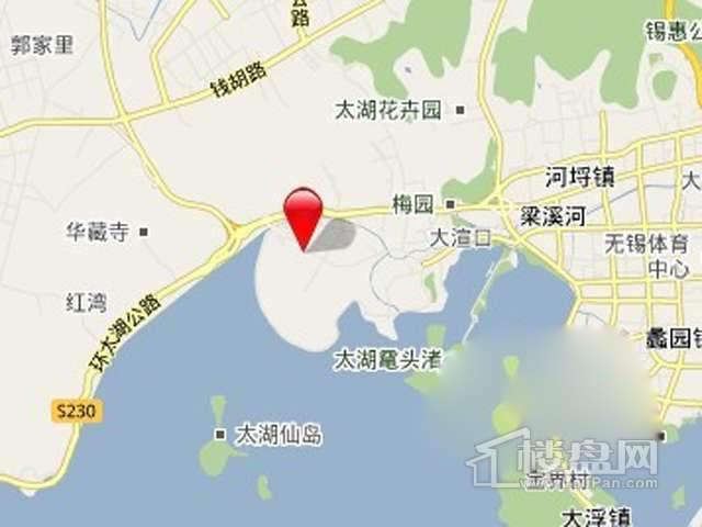 太湖锦绣园交通图