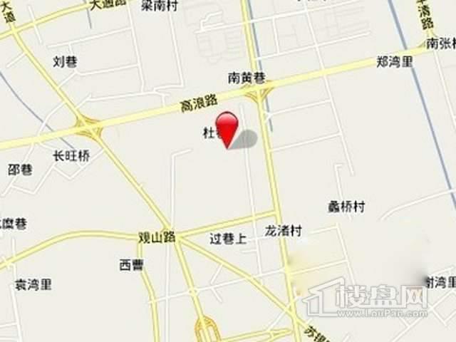 苏宁置业南湖大道项目交通图