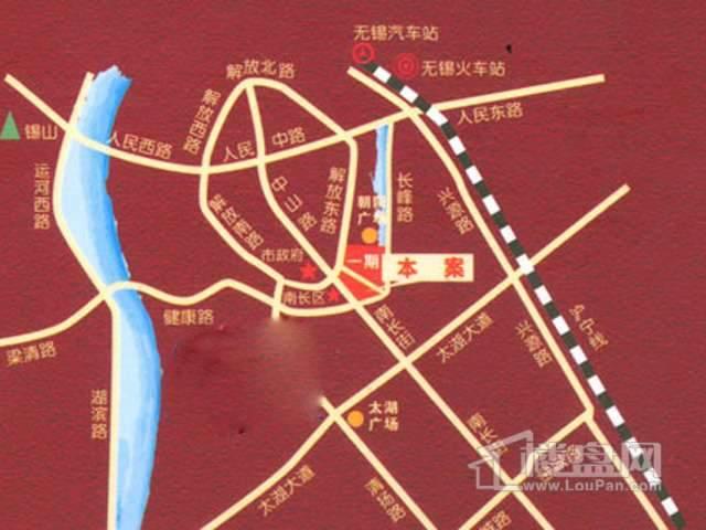 南禅寺紫金广场交通图
