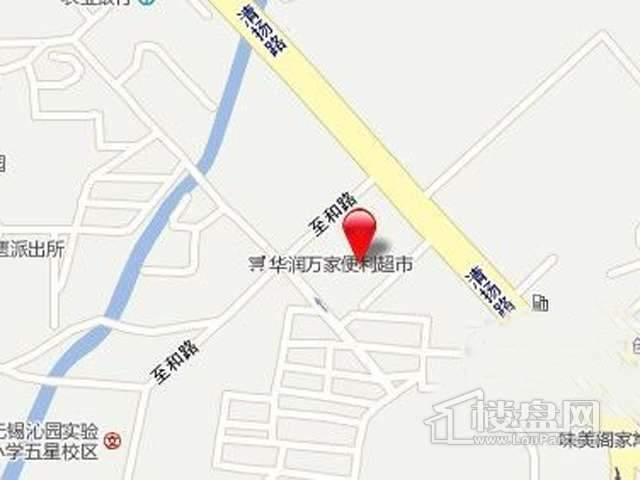 江苏五星实业南长区项目交通图