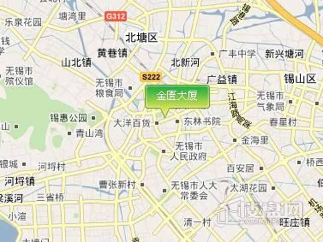 金匮大厦交通图