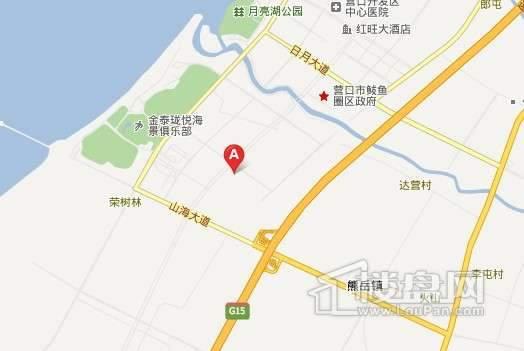 元基首府交通图