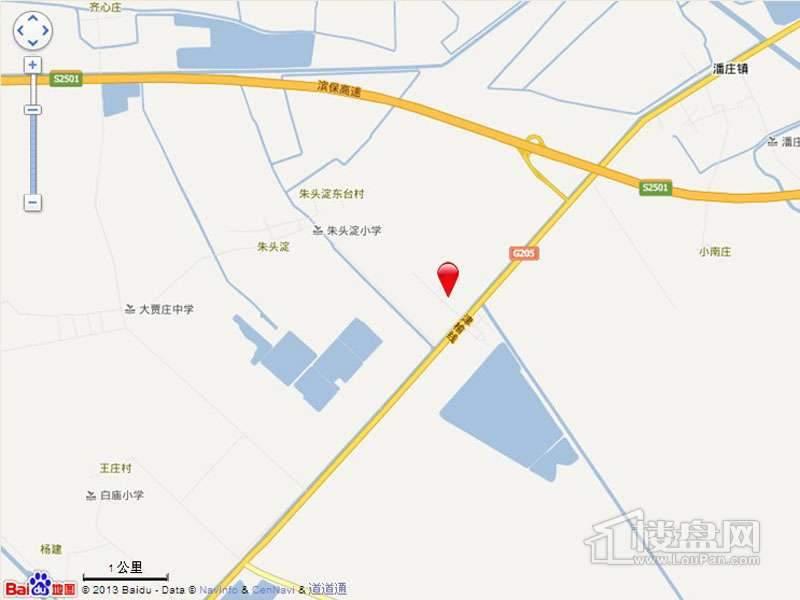 七里香格庄园位置图