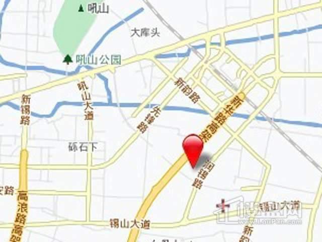 龙湖九里香醍交通图
