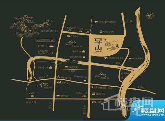 鸿豪城·享山位置图