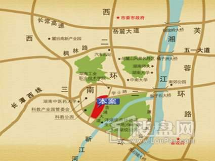 江山帝景位置图