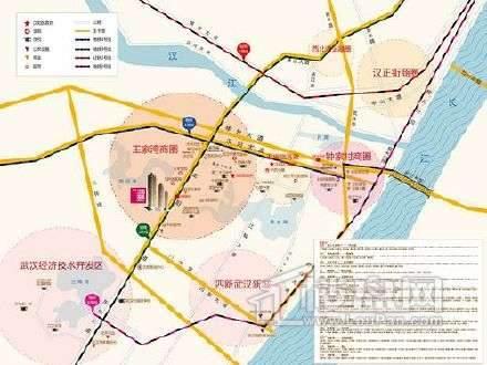 万科汉阳国际位置图