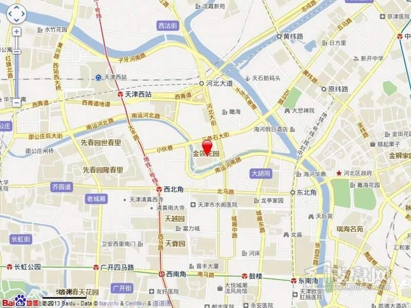 金筑家园位置图