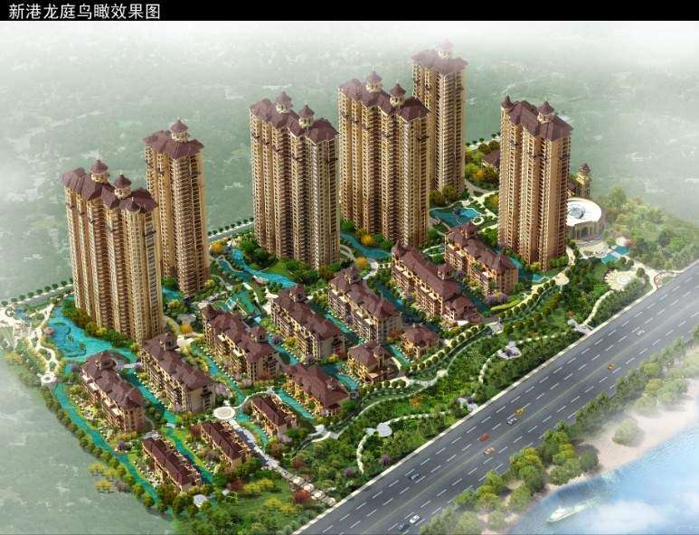 新港龙庭位置图