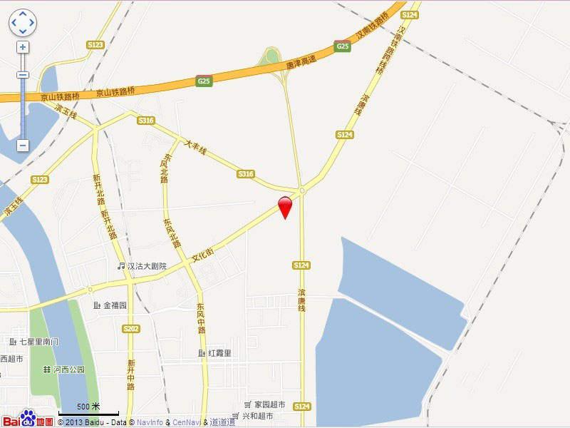 中铁四季公馆位置图