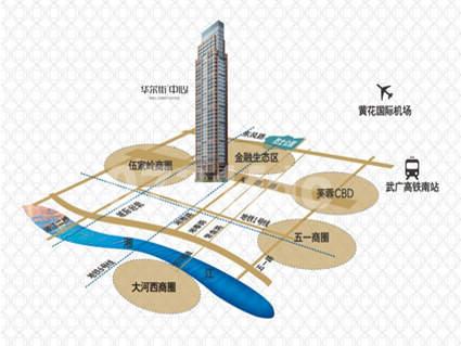 华尔街中心位置图