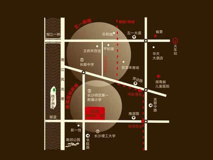 蓝湾国际广场位置图