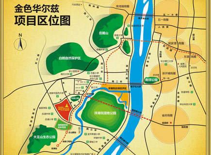 枫华府第位置图