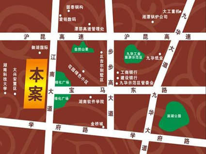 九华三鑫位置图