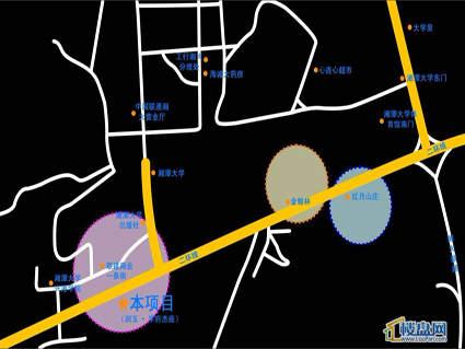 润玉桃李位置图
