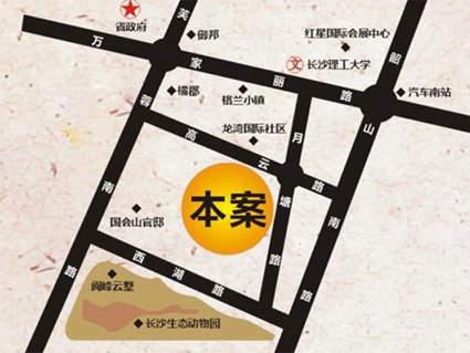 怡海星城位置图