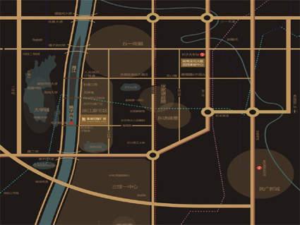 保利国际广场位置图