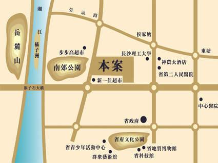兴威朱雀门位置图