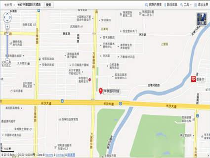 华雅国际财富中心位置图