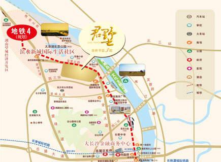 盈峰翠邸君墅位置图