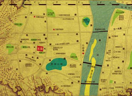 沁园春御院位置图