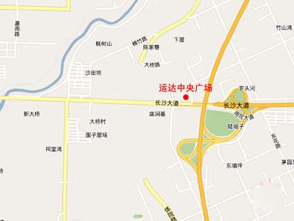 运达中央广场位置图