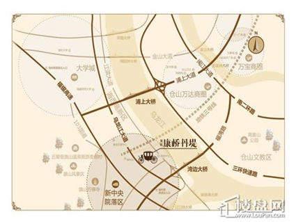 龙旺伊顿公馆 位置图
