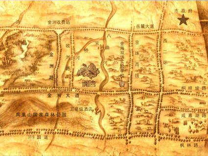 澜湾位置图