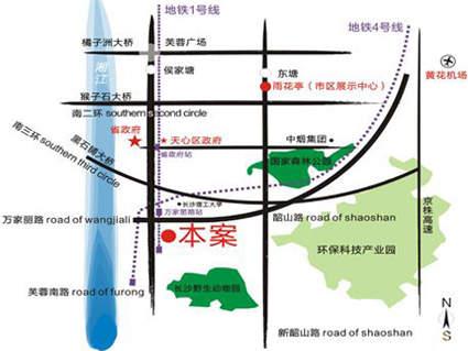 五矿龙湾国际社区位置图
