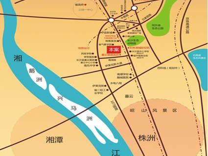 凯富漫城位置图