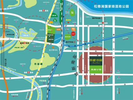 海德公园位置图