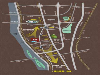 昆仑和府位置图