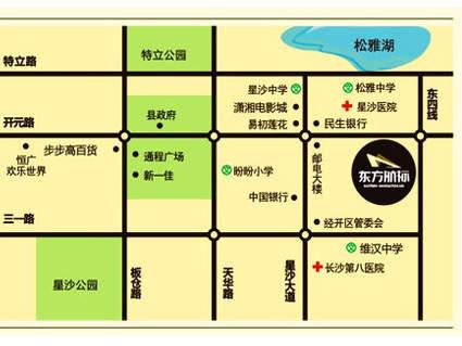 东方航标位置图