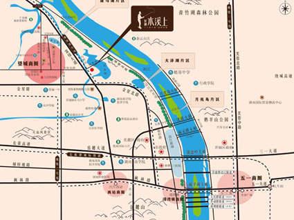 水溪上果墅位置图